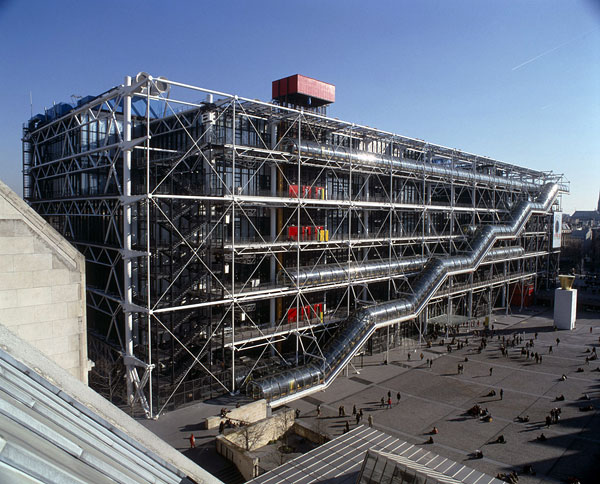 Top 10 ugly buildings making a case for the rom we - Centre george pompidou architecture ...