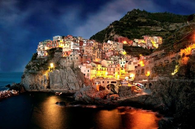 Amalfi Coast at Night (2)