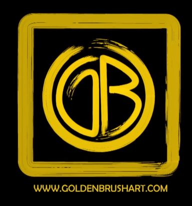 Golden Brush Logo