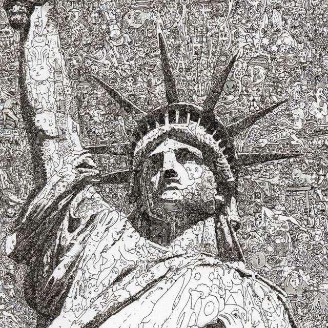 Statue of Liberty - Sagaki, Keita magnified