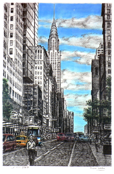 Stephen Wiltshire 12 in Colour