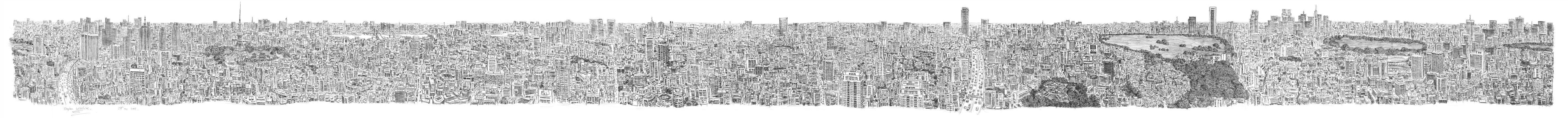 Tokyo_Panorama_by_Stephen_Wiltshire