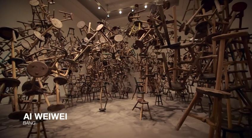 Vancouver Art Gallery Promo Video 2015, Ai Weiwei