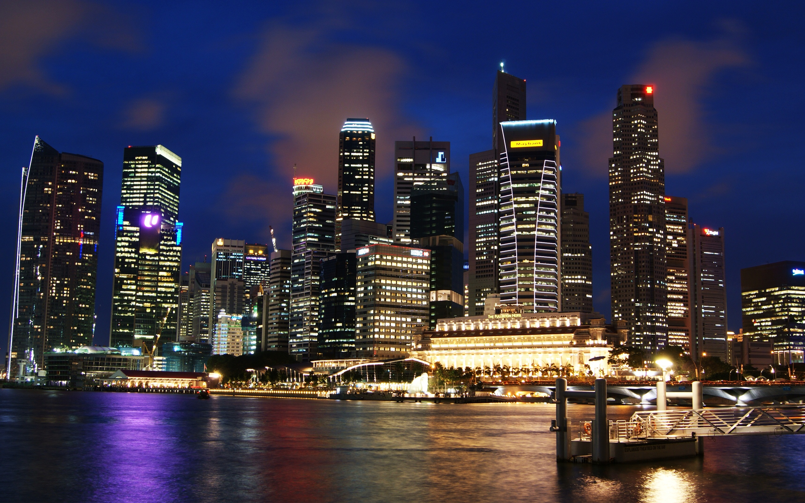 singapore_skyline-wide hdwallpapers.in